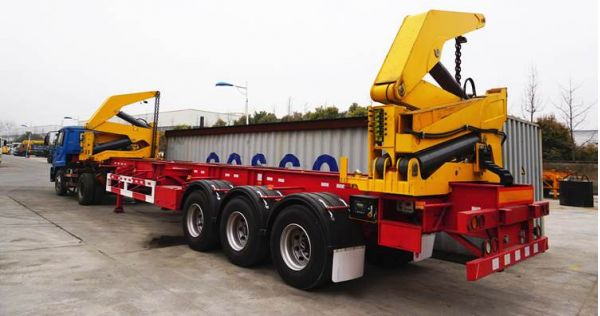 Container Side Loader Trailer for Sale in Madagascar