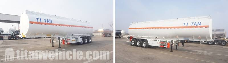 3 Axle Fuel Tanker Trailer For Sale