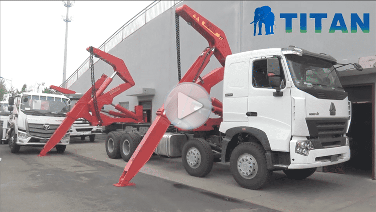 Side Loader Truck Trailer