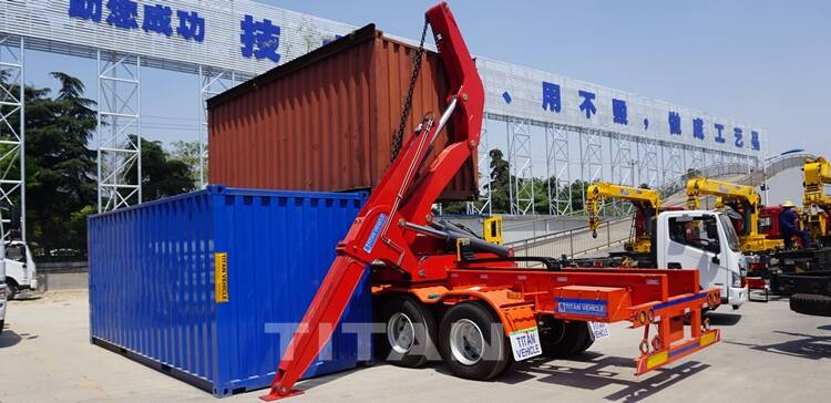 Side Loader Container For Sale