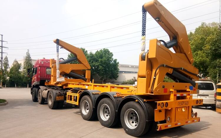 Side Loader Trailer For Sale Price
