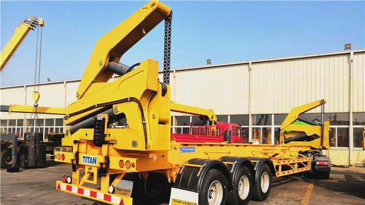 37ton container side loader