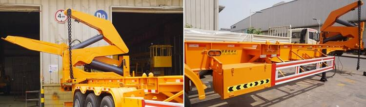 Details of Side Loader Container Truck