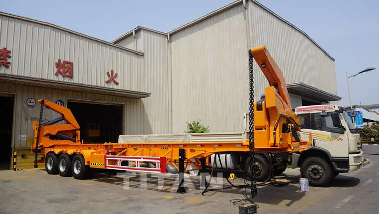 45T Side Lifter Container Trailer for Sale Price