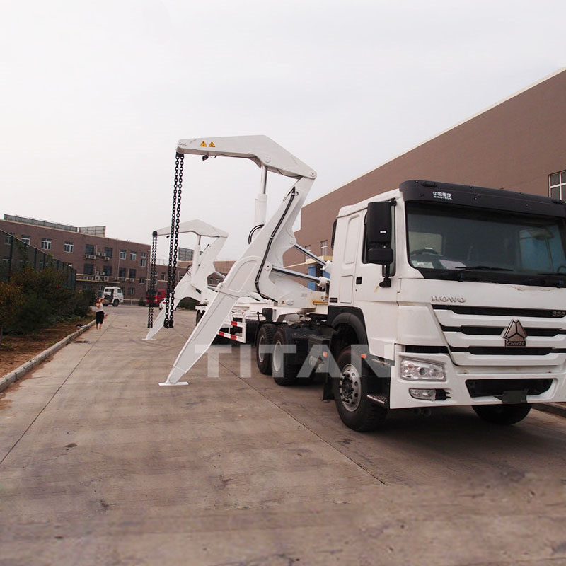 45 tons Container Side Loader Trailer