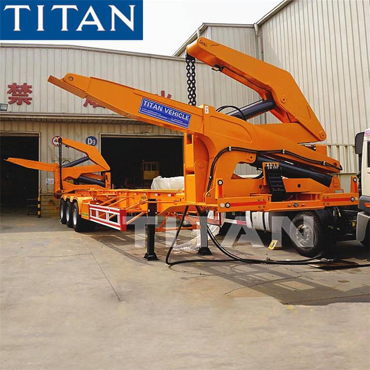 45T Side Lifter Container Trailer