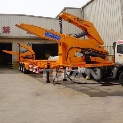 40ft 37 tons side loader trailer